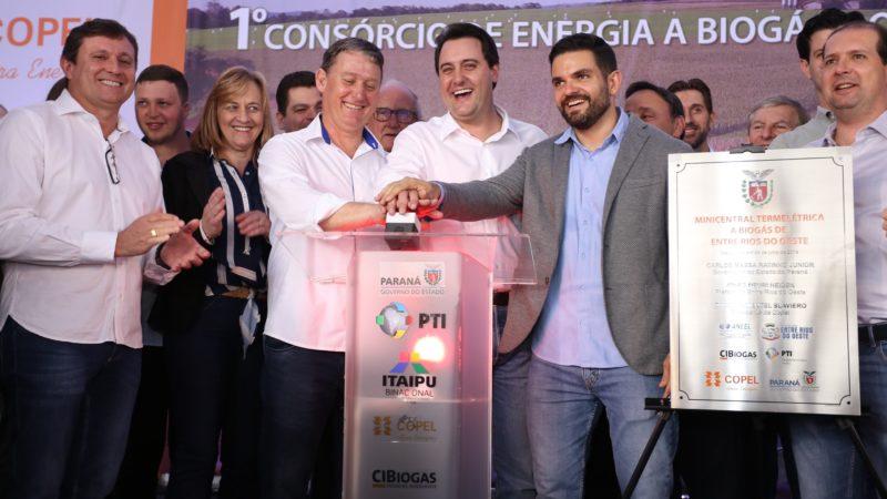 Governador inaugura primeira usina de biogás do Brasil
