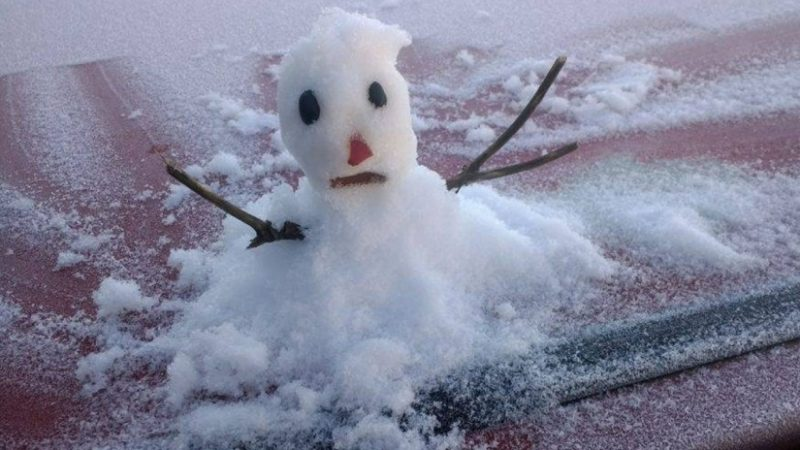 Além de frio em Curitiba, massa de ar polar pode trazer neve para o Paraná