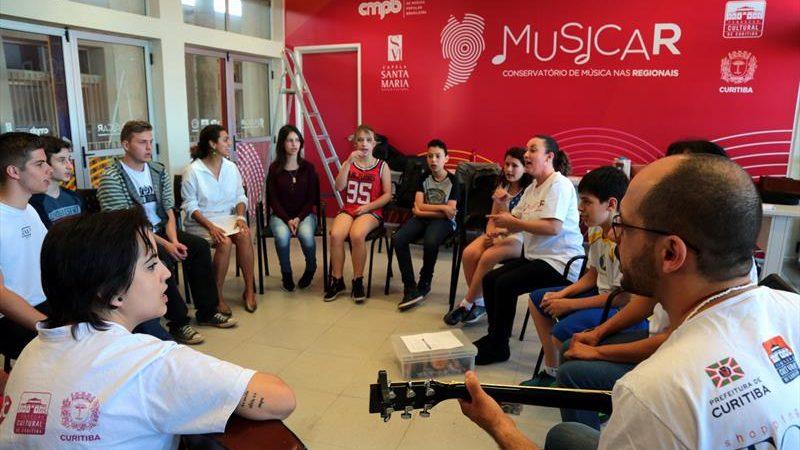 MusicaR abre 180 vagas para aulas gratuitas de musicalização