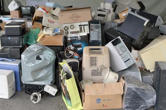 Meio Ambiente promove três mutirões de coleta de lixo eletroeletrônico
