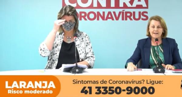 Curitiba volta para a bandeira amarela a partir de domingo, anuncia secretária da Saúde