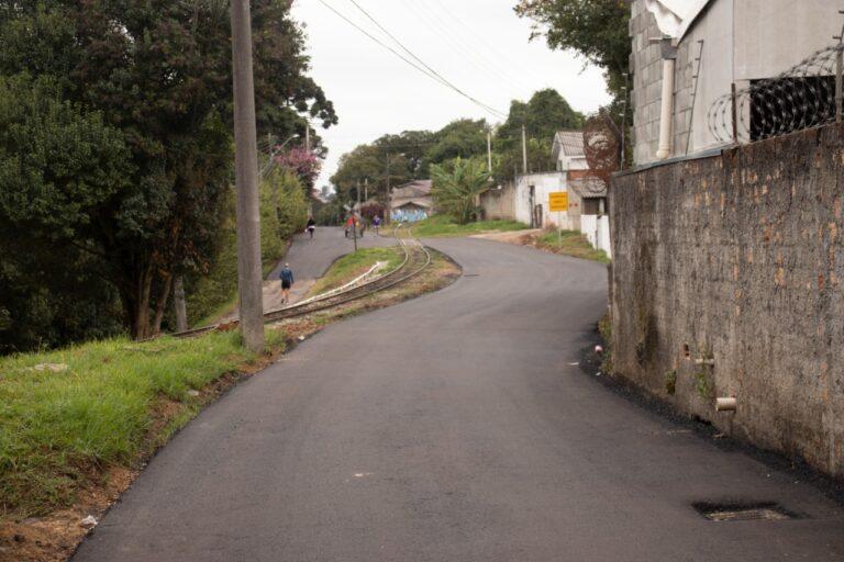 Rua Francisco Krainski no São Lourenço foi revitalizada