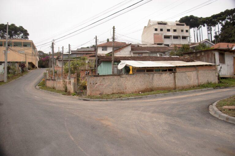 Rua Veronica Mickosz Bodzinski recebe implantação de asfalto