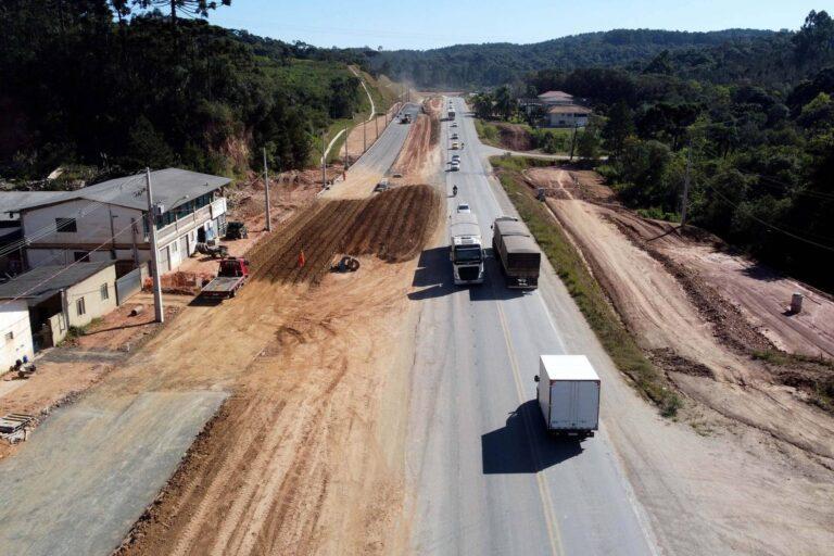 Obras de duplicação da Rodovia dos Minérios atingem 25% de execução